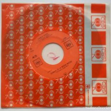 Discos de vinilo: CARMEN RIVERO - CUMBIA DE LA MEDIA NOCHE / LA POLLERA COLORA - SINGLE MEXICANO 1964 - CBS. Lote 183700947