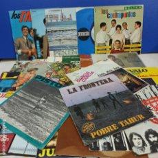 Discos de vinilo: LOTE 28 SINGLES DISCO VINILO DIFERENTES CANTANTES Y GRUPOS ESPAÑOLES. Lote 183703508