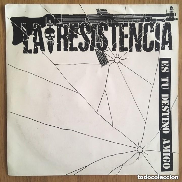 RARO!!!! LA RESISTENCIA SINGLE TWINS DISCO EXCELENTE (Música - Discos - Singles Vinilo - Grupos Españoles de los 90 a la actualidad)