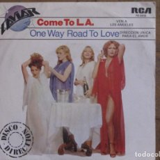 Discos de vinilo: CAVIAR. COME TO L.A.; ONE WAY ROAD TO LOVE. PROMOCIONAL. ESPAÑA, 1979. FUNDA VG+. DISCO VG+.. Lote 183714548
