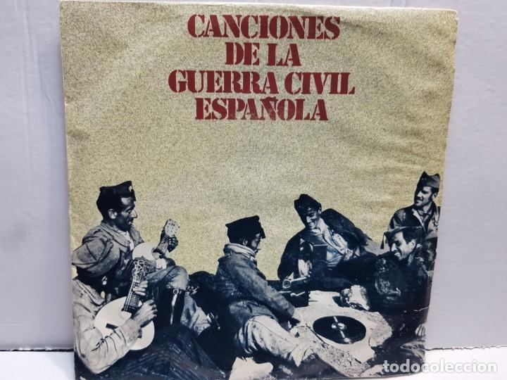 SINGLE-CANCIONES DE LA GUERRA CIVIL-SOY EL NOVIO DE LA MUERTE EN FUNDA ORIGINAL AÑO 1978 (Música - Discos - Singles Vinilo - Clásica, Ópera, Zarzuela y Marchas)