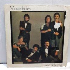 Discos de vinilo: SINGLE-MOCEDADES-AMOR DE HOMBRE EN FUNDA ORIGINAL AÑO 1982. Lote 183719548
