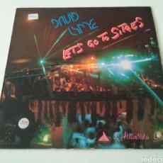 Discos de vinilo: DAVID LYME - LET'S GO TO SITGES. Lote 183719846