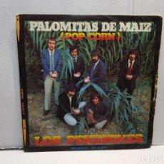 Discos de vinilo: SINGLE-LOS PEKENIKES-PALOMITAS DE MAIZ EN FUNDA ORIGINAL AÑO 1972. Lote 183721423