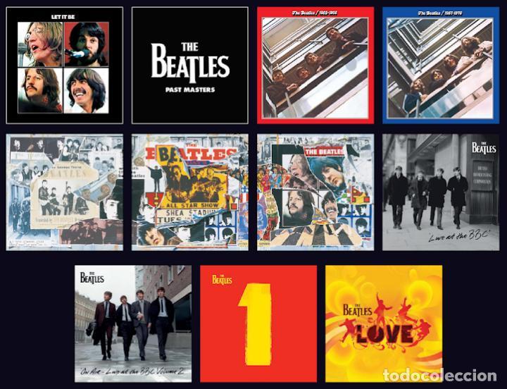 Discos de vinilo: Lote THE BEATLES COLECCION - Discografia (Lote 23 Lps, 5 triples y 6 dobles) Nuevos -ENVIO GRATIS - Foto 3 - 183722983