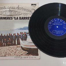 Discos de vinilo: CANÇONS QUE TORNEN// GRUP D'HAVANERES LA BARRETINA//1980//VG+,VG//LP. Lote 183723747