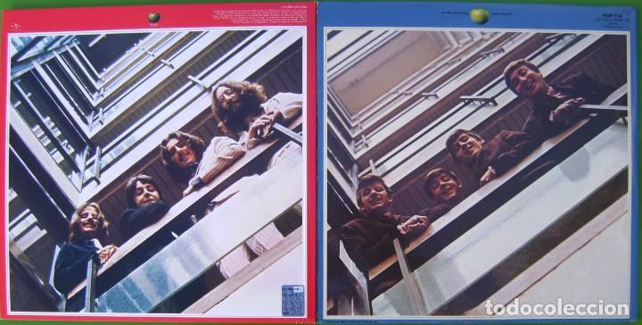 Discos de vinilo: Lote THE BEATLES - Lps dobles Rojo y Azul (1962-1966 y 1967-1970) - Foto 2 - 183724067