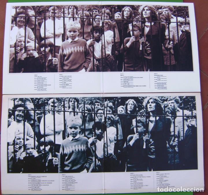 Discos de vinilo: Lote THE BEATLES - Lps dobles Rojo y Azul (1962-1966 y 1967-1970) - Foto 3 - 183724067