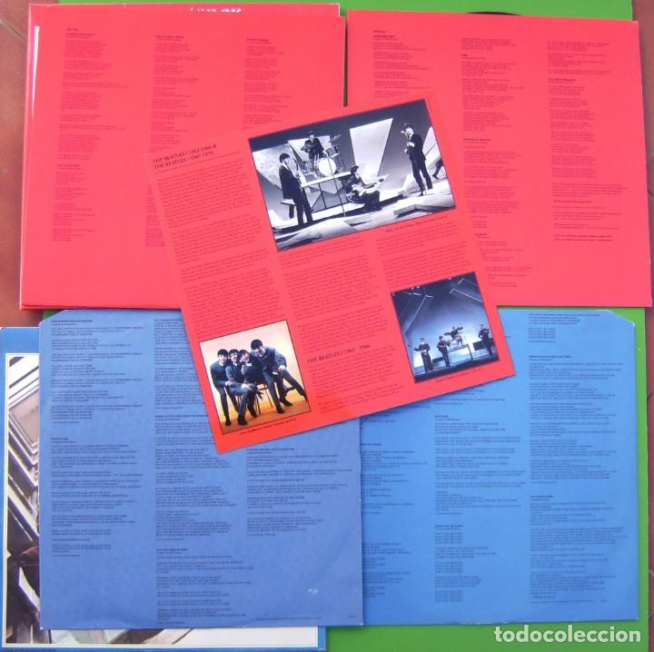Discos de vinilo: Lote THE BEATLES - Lps dobles Rojo y Azul (1962-1966 y 1967-1970) - Foto 4 - 183724067