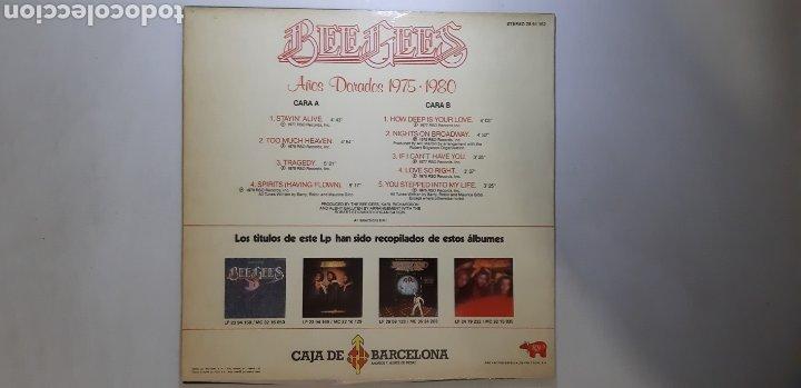 Discos de vinilo: BEEGEES. AÑOS DORADOS . RSO ESPAÑA. - Foto 3 - 183727455