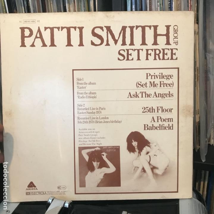 Discos de vinilo: Patti Smith Group – Set Free 1978 - Foto 3 - 183732146
