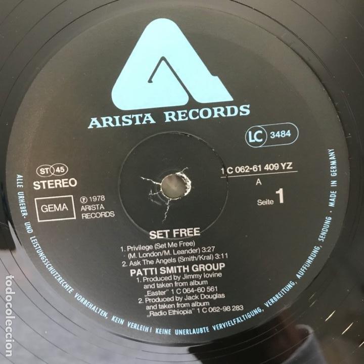 Discos de vinilo: Patti Smith Group – Set Free 1978 - Foto 6 - 183732146