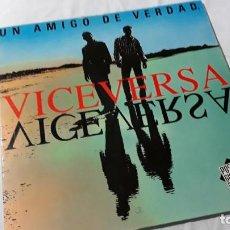 Discos de vinilo: CARLOS Y ANGEL BEATO, VICEVERSA, LP VINILO. Lote 183732621