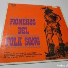 Discos de vinilo: PIONEROS DEL FOLK SONG LP . Lote 183732637