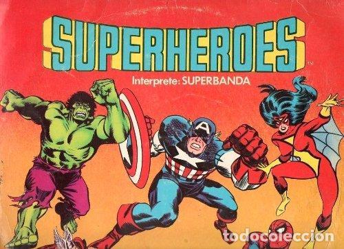 LONG PLAY SUPERHEROES CAPITAN MEMO AGUIRRE SUPERBANDA FTA FLPS-375 PERÚ STEREO 1982 SABAN RECORDS (Música - Discos - Singles Vinilo - Grupos y Solistas de latinoamérica)