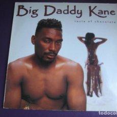 Discos de vinilo: BIG DADDY KANE LP COLD CHILLIN' 1990 - TASTE OF CHOCOLATE HIP HOP - . Lote 183736965