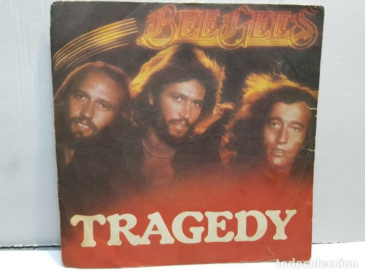 SINGLE-BEE GEES -TRAGEDY EN FUNDA ORIGINAL AÑO 1979 (Música - Discos - Singles Vinilo - Pop - Rock - Internacional de los 70)