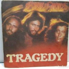 Discos de vinilo: SINGLE-BEE GEES -TRAGEDY EN FUNDA ORIGINAL AÑO 1979. Lote 183740352