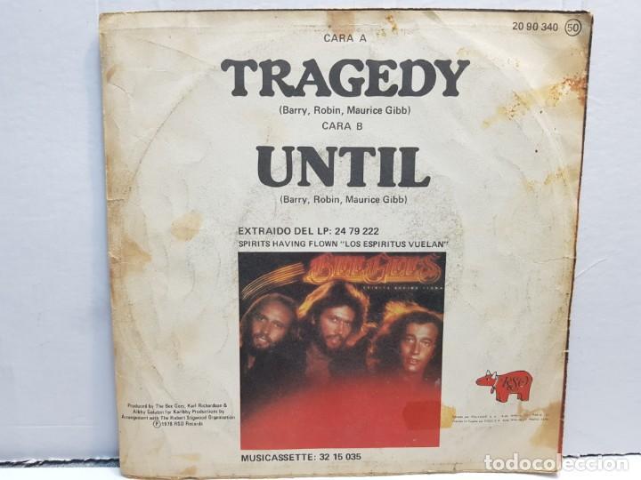 Discos de vinilo: SINGLE-BEE GEES -TRAGEDY en funda original año 1979 - Foto 2 - 183740352