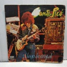 Discos de vinilo: SINGLE-SANTI PICO -EL LAGO DE CRISTAL EN FUNDA ORIGINAL AÑO 1981. Lote 183741738