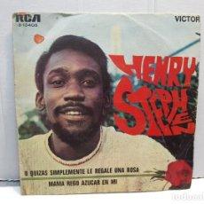 Discos de vinilo: SINGLE-HENRY STEPHEN -O QUIZAS SIMPLEMENTE LE REGALE UNA ROSA EN FUNDA ORIGINAL AÑO 1969. Lote 183741988