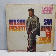 Discos de vinilo: SINGLE-WILSON PICKETT-DEBORAH EN FUNDA ORIGINAL AÑO 1968. Lote 183742377
