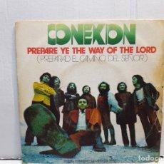 Discos de vinilo: SINGLE-CONEXION-PREPARE YE THE WAY OF THE LORD EN FUNDA ORIGINAL AÑO 1972. Lote 183742608