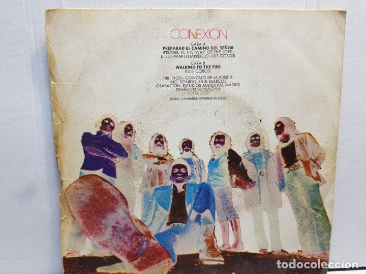 Discos de vinilo: SINGLE-CONEXION-PREPARE YE THE WAY OF THE LORD en funda original año 1972 - Foto 2 - 183742608