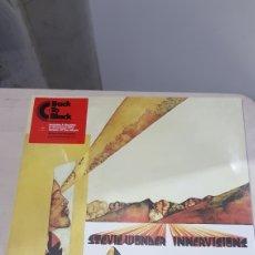Discos de vinilo: LP STEVIE WONDER INVERVISIONS NUEVO PRECINTADO. Lote 183743003