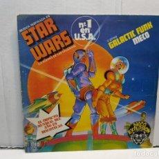 Discos de vinilo: SINGLE-STAR WARS THEME-MECO EN FUNDA ORIGINAL AÑO 1977. Lote 183743671