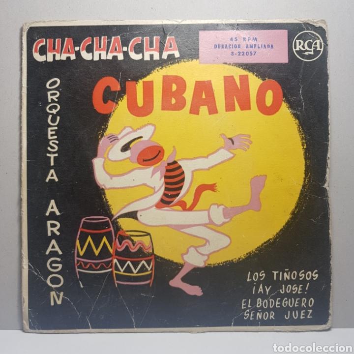 Discos de vinilo: ORQUESTA ARAGON - CHA-CHA-CHA CUBANO LOS TIÑOSOS ¡AY JOSE! EL BODEGUERO SEÑOR JUEZ - Foto 5 - 183746746