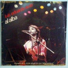 Discos de vinilo: LUIS EDUARDO AUTE (AL ALBA / ENTRE AMIGOS) MOVIEPLAY 1983. Lote 183747730