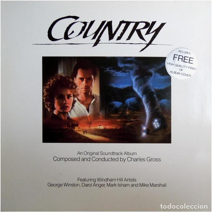 CHARLES GROSS – COUNTRY - LP EUROPE 1984 - WINDHAM HILL RECORDS 371 039-1 (Música - Discos - LP Vinilo - Bandas Sonoras y Música de Actores )