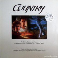 Discos de vinilo: CHARLES GROSS ‎– COUNTRY - LP EUROPE 1984 - WINDHAM HILL RECORDS ‎371 039-1. Lote 183749027