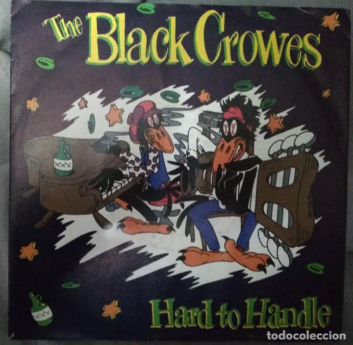 THE BLACK CROWES - HARD TO HANDLE. SINGLE MADE IN GERMANY (Música - Discos - Singles Vinilo - Pop - Rock Extranjero de los 90 a la actualidad)