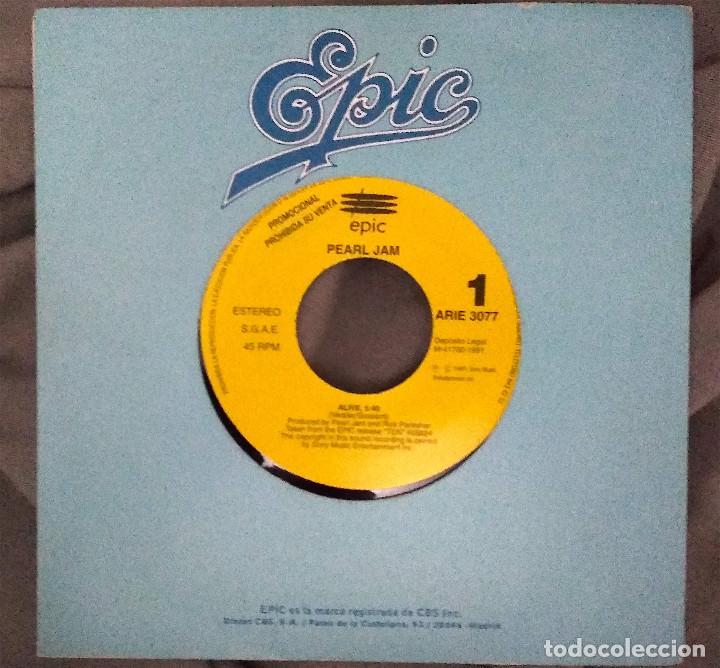 PEARL JAM - ALIVE. SINGLE PROMOCIONAL. EDICIÓN ESPAÑOLA (Música - Discos - Singles Vinilo - Pop - Rock Extranjero de los 90 a la actualidad)