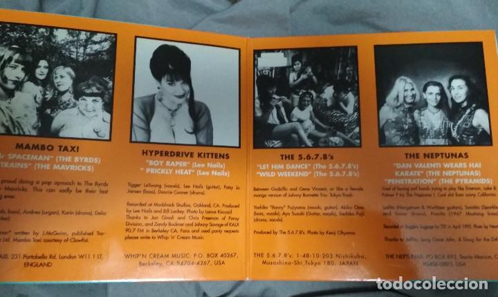 Discos de vinilo: ALL KINDSA GIRLS VOL 3 - Doble EP gatefold. GRUPOS FEMENINOS. Sello Munster - Foto 2 - 183754528