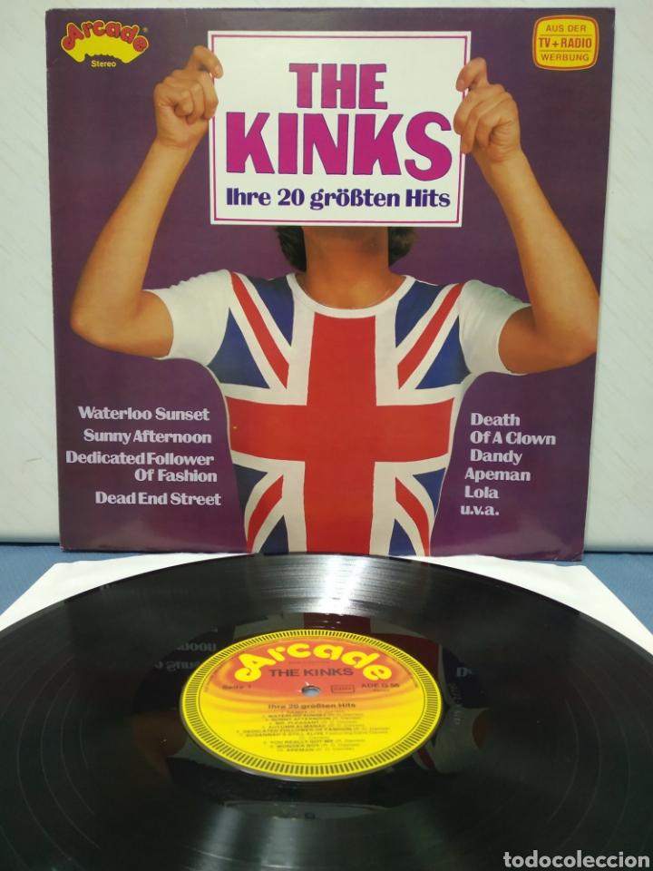 THE KINKS - 20 GREATEST HITS 1978 ED ALEMANA (Música - Discos - LP Vinilo - Pop - Rock Extranjero de los 50 y 60)