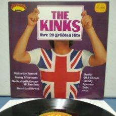 Discos de vinilo: THE KINKS - 20 GREATEST HITS 1978 ED ALEMANA. Lote 183758825