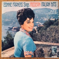 Discos de vinilo: CONNIE FRANCIS SINGS MODERN ITALIAN HITS LP ORIG MGM. Lote 183759950