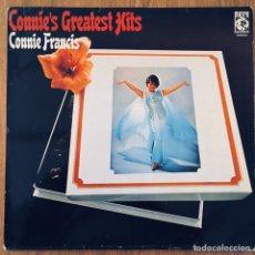 Discos de vinilo: CONNIE FRANCIS CONNIE'S GREATEST HITS LP ORIG METRO. Lote 183760262