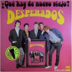 Discos de vinilo: DESPERADOS - ¿QUÉ HAY DE NUEVO, VIEJO? - LP SPAIN 1986 - 3 CIPRESES 4C-167 . Lote 183760467