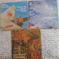 Discos de vinilo: NAVIDAD JOVEN, RAPSODIA SURAMERICANA Y AQUÍ ESPAÑA. Lote 183770455