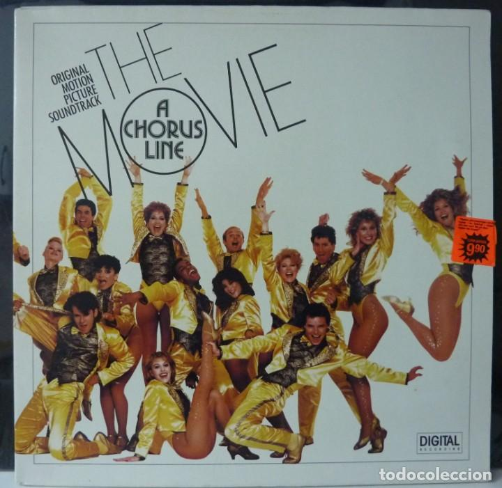 THE MOVIE A CHORUS LINE // 1985 // MADE HOLLAND // PORTADA DOBLE // (VG VG).LP (Música - Discos - LP Vinilo - Bandas Sonoras y Música de Actores )