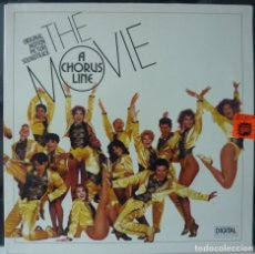 Discos de vinilo: THE MOVIE A CHORUS LINE // 1985 // MADE HOLLAND // PORTADA DOBLE // (VG VG).LP. Lote 183776275