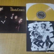 Discos de vinilo: THE BLACK CROWES - PRESENT: SHAKE YOUR MONEY MAKER (LP REEDICIÓN, VINILO AMARILLO Y ENCARTE) NUEVO. Lote 183778616