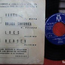Discos de vinilo: CONJUNTO OLIVINO - VANESSA + 3 - PROMO 1972. Lote 183779667