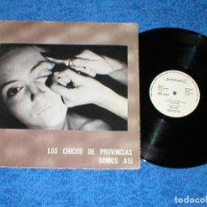 Discos de vinilo: LOS CHICOS DE PROVINCIAS SOMOS ASI MAXI 12 PROSCRITOS MAS BIRRAS JOHN LANDIS FANS RARO ARAGON ROCK !. Lote 183780093