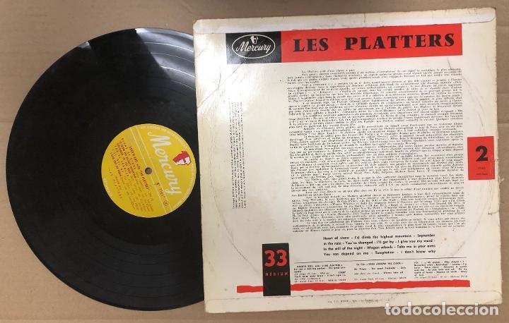 Discos de vinilo: LP THE PLATTERS VOL. 2. MERCURY - Foto 2 - 183782130