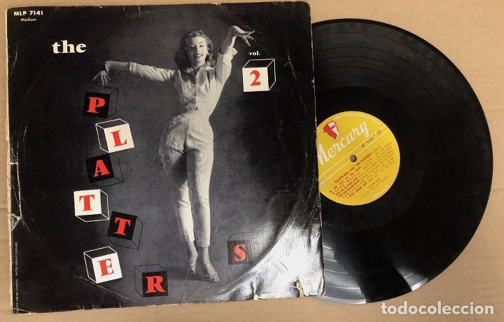 LP THE PLATTERS VOL. 2. MERCURY (Música - Discos - LP Vinilo - Funk, Soul y Black Music)